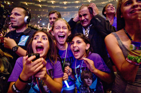 Justin Bieber MSG audience